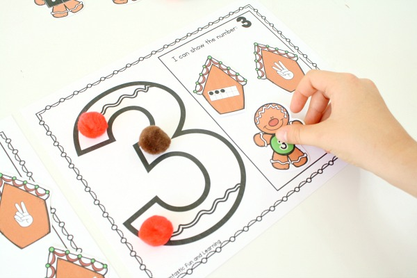 Preschool Gingerbread Center Game