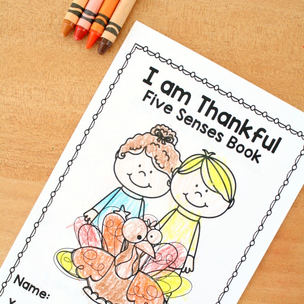 Thanksgiving Emergent Reader Free Printable