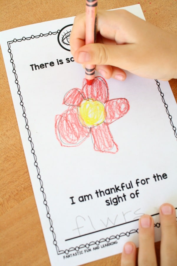 Thanksgiving Writing Activity for Kids