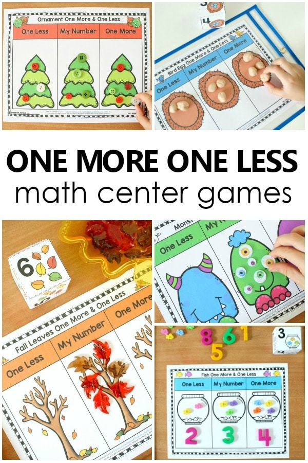 one more one less games fantastic fun learning
