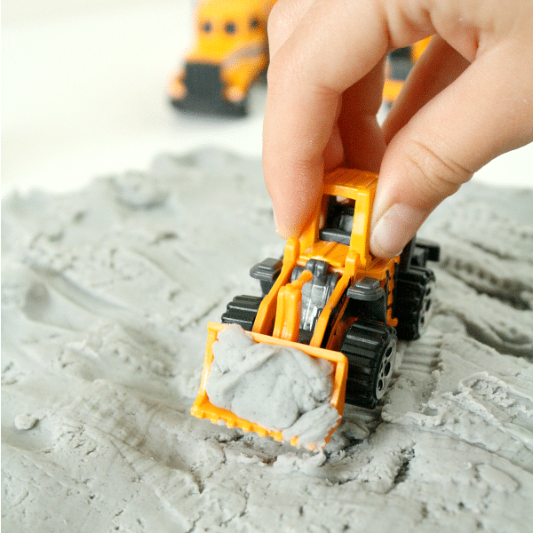 Construction Theme Play for Kids