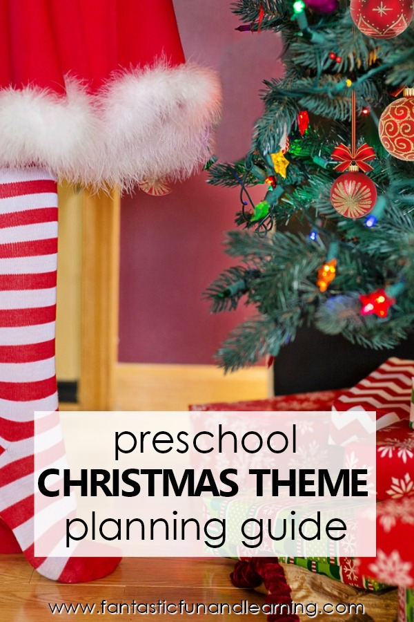 Preschool Christmas Theme Planning Guide-Preschool Christmas Theme Activities for Kids #preschool #christmas