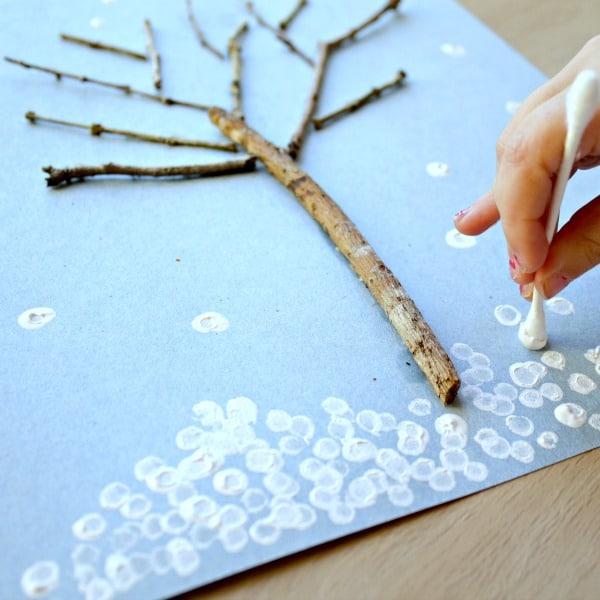 Winter Tree Craft
