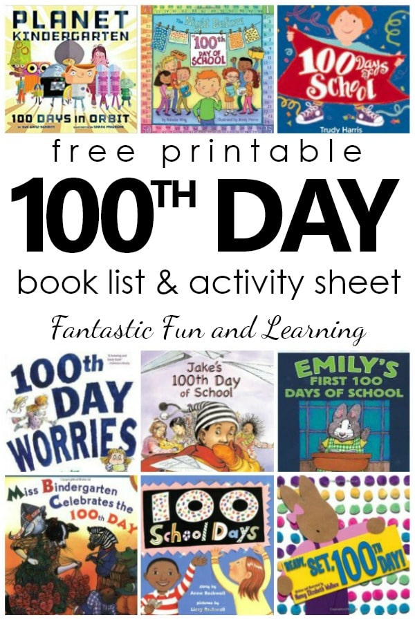 picture relating to 100 Days Printable named 100th Working day of University Publications - Very good Exciting Understanding