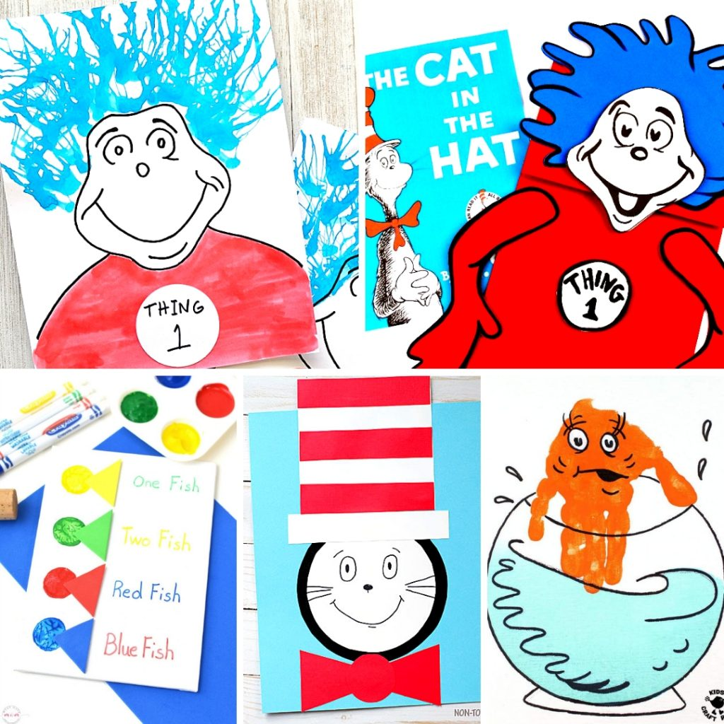 20 Dr Seuss Crafts And Art Projects Fantastic Fun Learning
