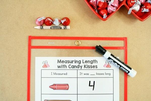 Nonstandard Measurement-Valentine Math Activities for Preschool and Kindergarten
