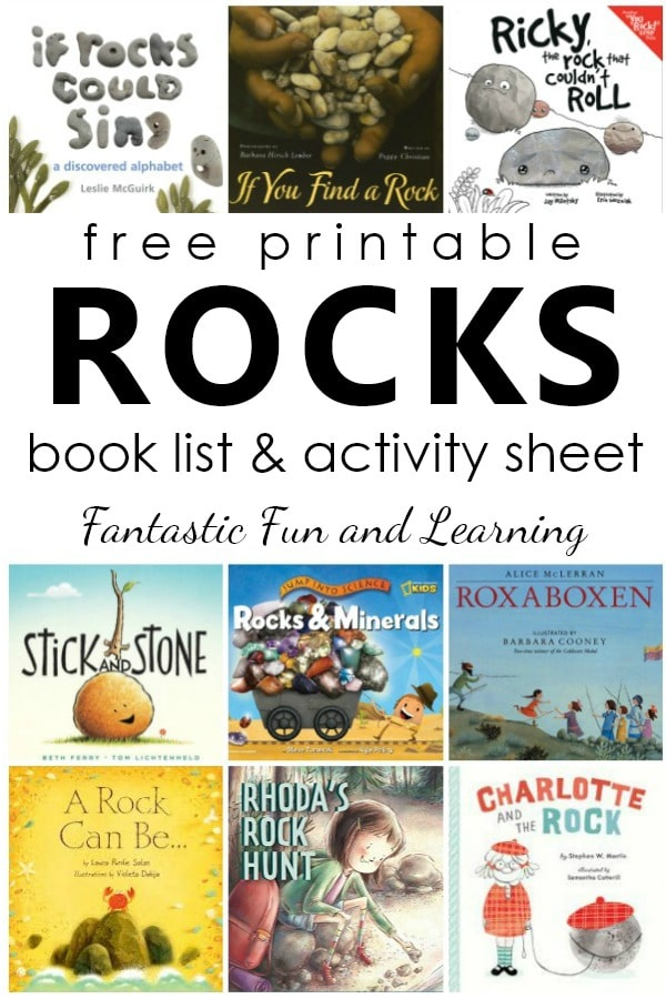 Books About Rocks For Young Kids
