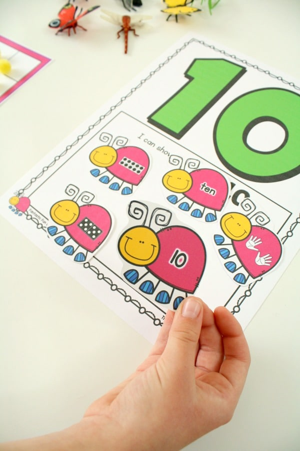 Free Printable Spring Math Activity for Preschool