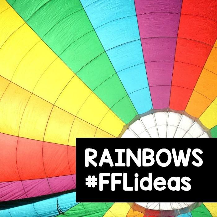 Rainbow Preschool Activities