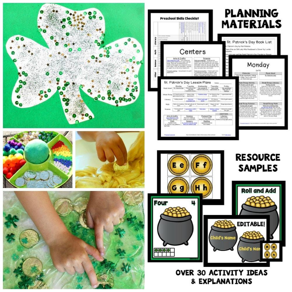 Preschool St. Patricks' Day Activities
