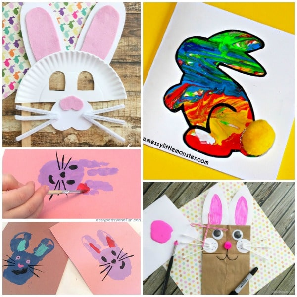 Bunny Arts and Crafts Projects for Easter