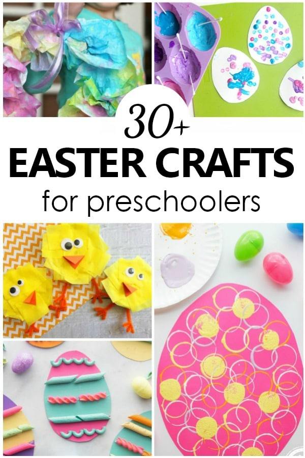 It is a graphic of Zany Printable Crafts for Preschoolers