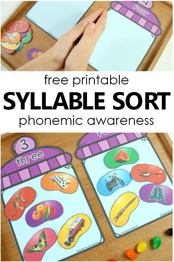 It is a picture of Soft Phonemic Awareness Printable Games
