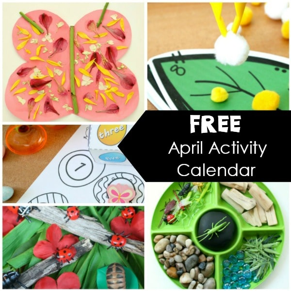 April Preschool Activities And Fun Things To Do With Kids