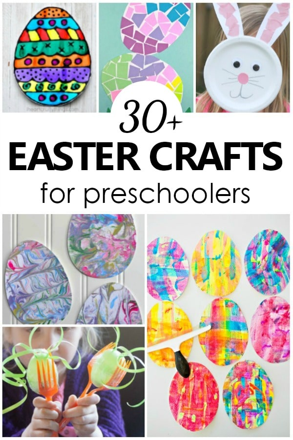 Fun Easter Crafts for Kids-30+ Easter Arts and Crafts Projects for Preschoolers #kidart #easter #preschool