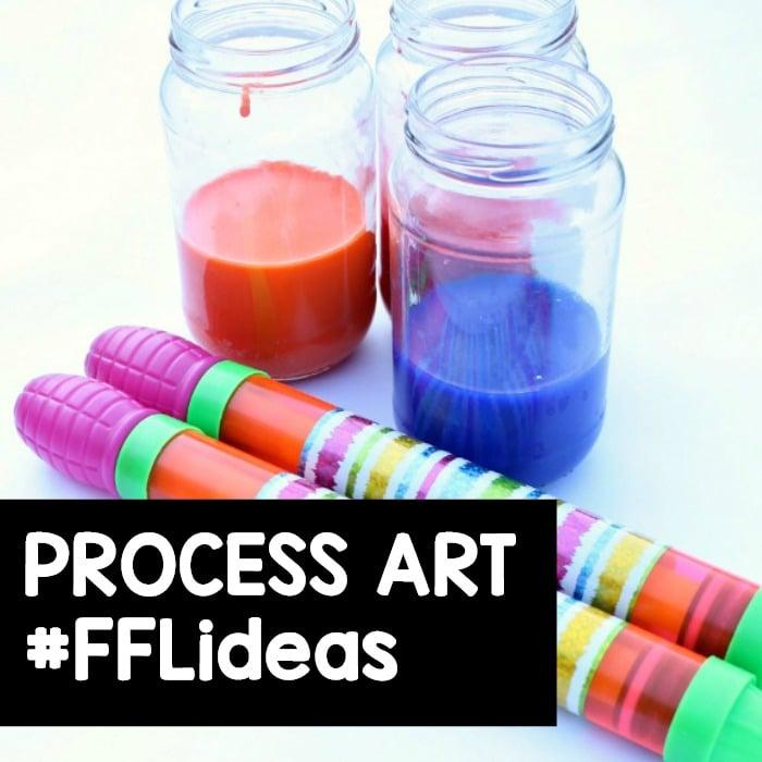 Preschool Process Art Activities
