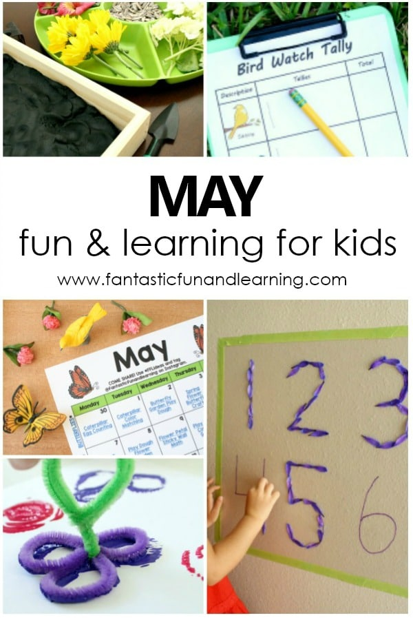 May Preschool Activities and Fun Things to Do with Kids #may #preschool #kidsactivities