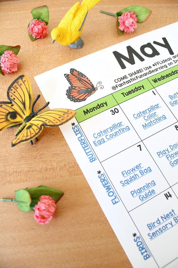 Free Printable May Activity Calendar for Kids Activities