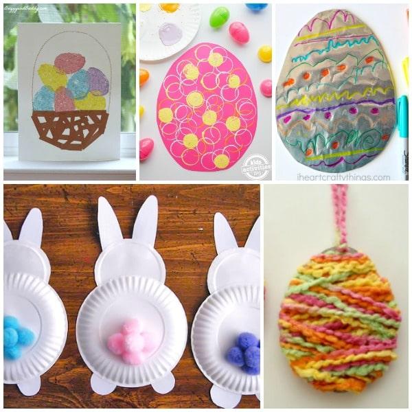 Set 1-Easter Crafts for Preschool