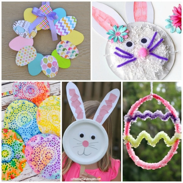 30 Easter Crafts For Preschoolers Fantastic Fun Learning