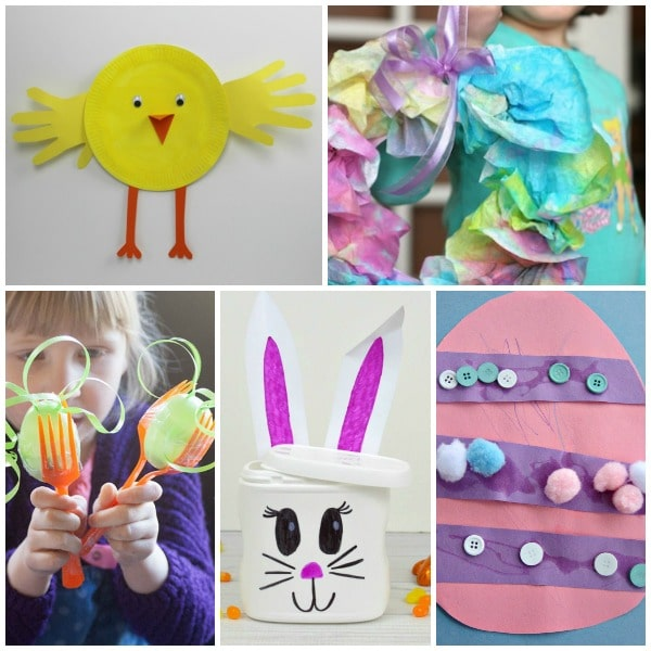 Set 3-Easter Crafts for Preschoolers
