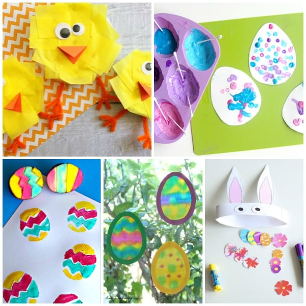 Set 5-Easter Crafts for Preschoolers
