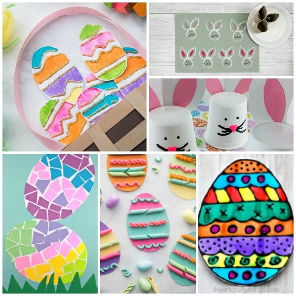 Set 6-Easter Crafts for Kids