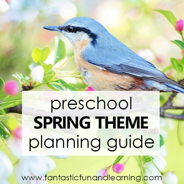 Theme Planning Guide-Spring Preschool Activities