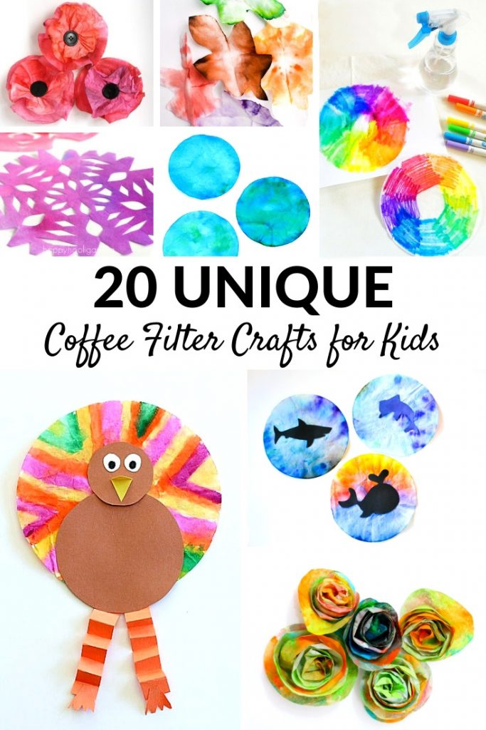 Best Coffee Filter Crafts For Kids Fantastic Fun Learning