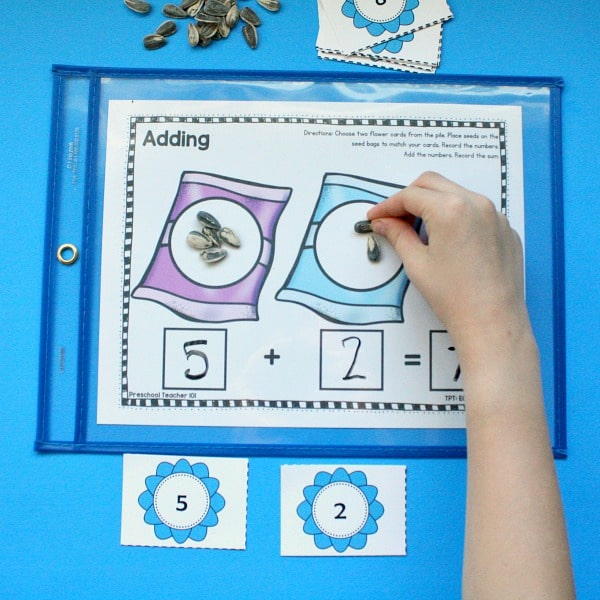 Addition Activities for Preschool and Kindergarten