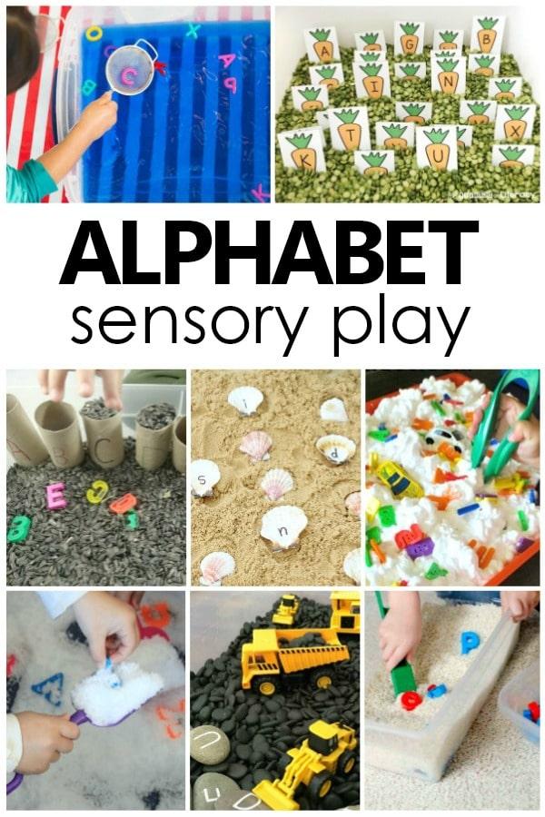 ABC Sensory Bins - Fantastic Fun & Learning