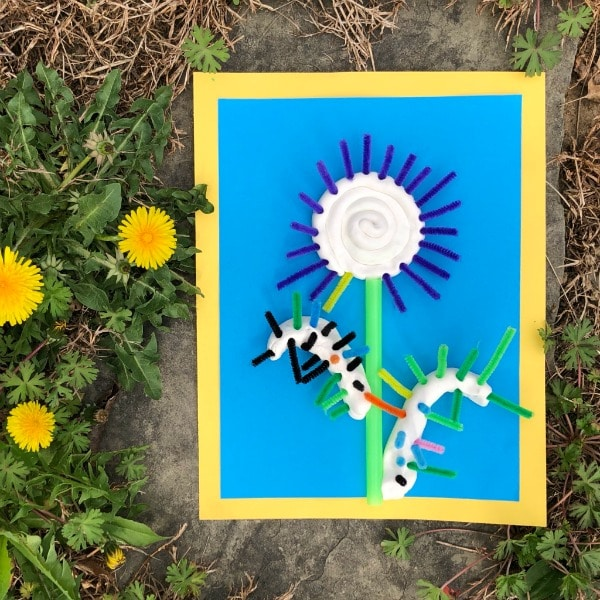Creative Spring Flower Craft for Preschool