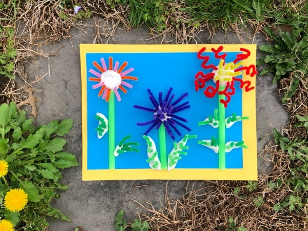 Flower Craft for Preschool and Kindergarten