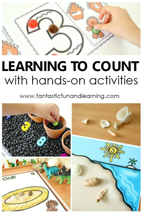 Preschool Number Activities for Learning Numbers in Preschool #preschool #numbers #counting #earlychildhood #prek