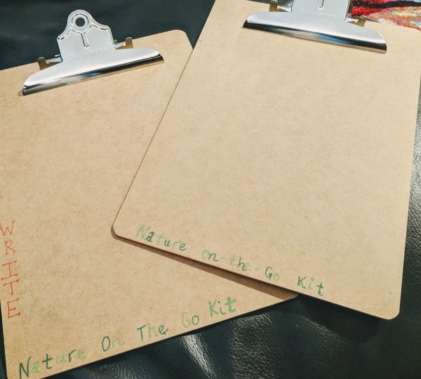 Clipboards for Outdoor Classroom