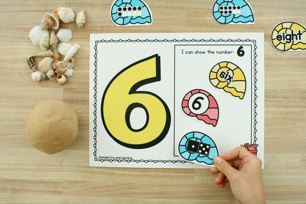 Counting Numbers Summer Math Freebie for Preschool and Kindergarten