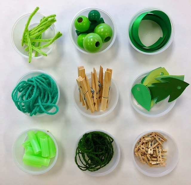 Materials for Decorate a Tree Loose Parts Play