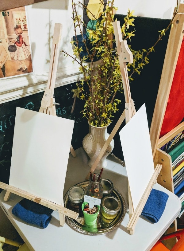 Indoor Art Invitation inspired by Nature