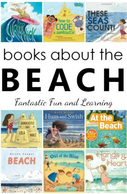 Picture Books About the Beach for Kids #preschool #kindergarten #booklist #kidlist