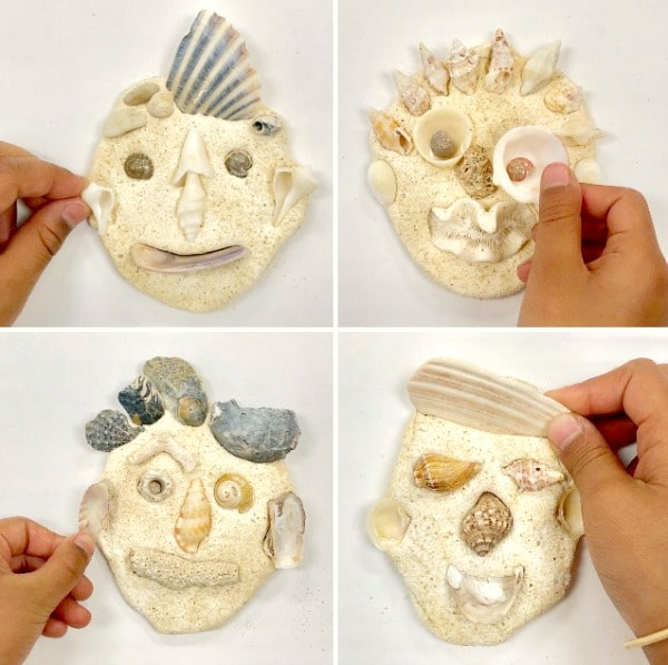 Shell Theme Art Activities for Preschool and Kindergarten