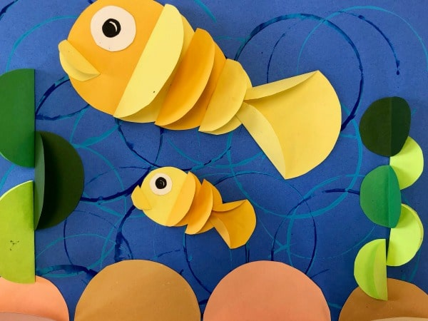 Fish Craft with Paper for Kids