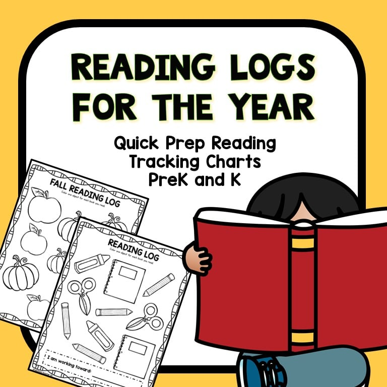 Preschool and Kindergarten Reading Logs