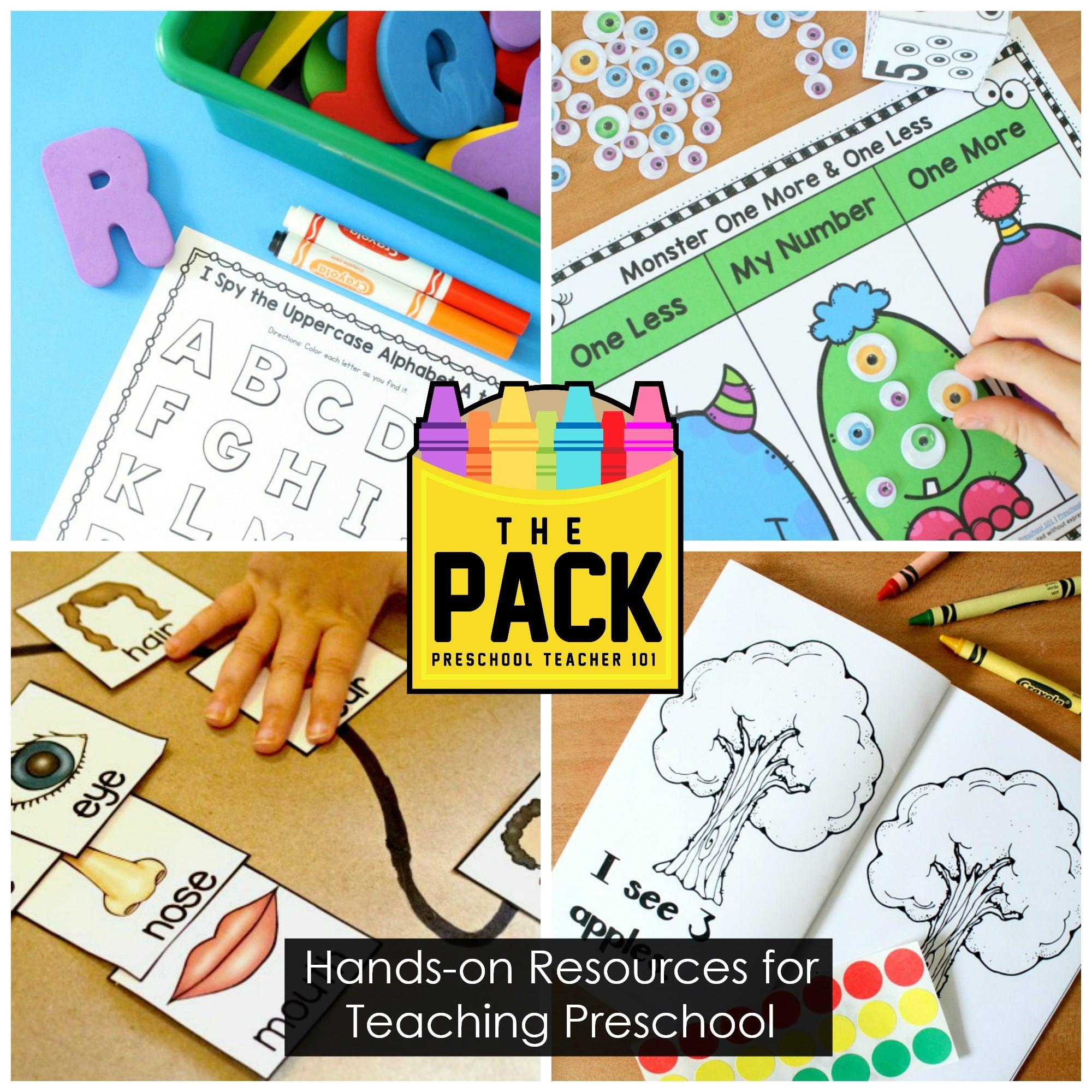 Preschool Curriculum-The Pack from Preschool Teacher 101