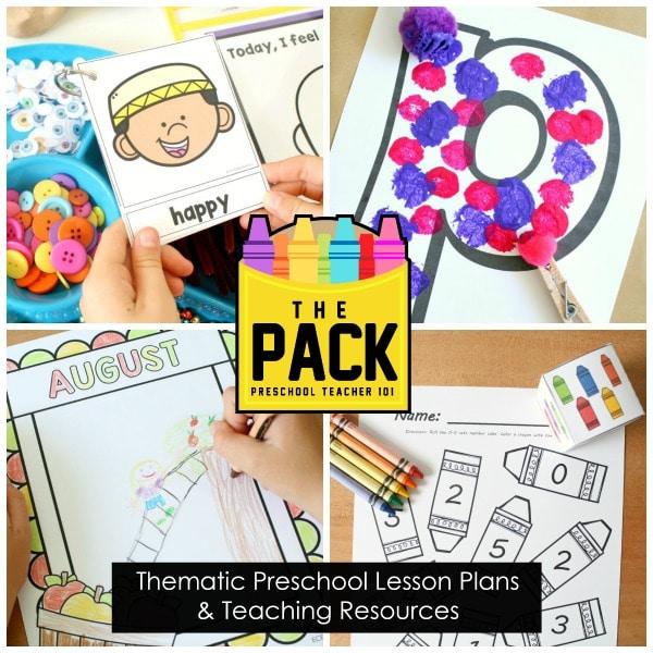 The Pack Preschool Curriculum Planning Membership