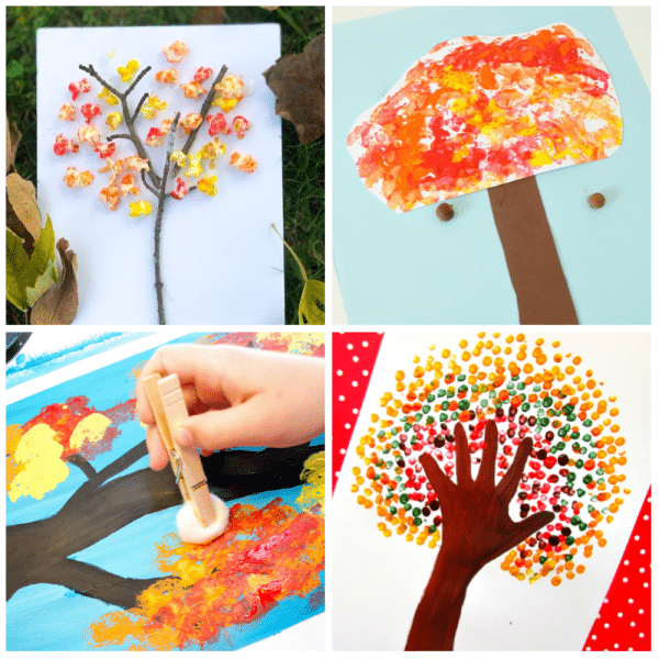 20 Fun Fall Tree Crafts For Kids Fantastic Learning