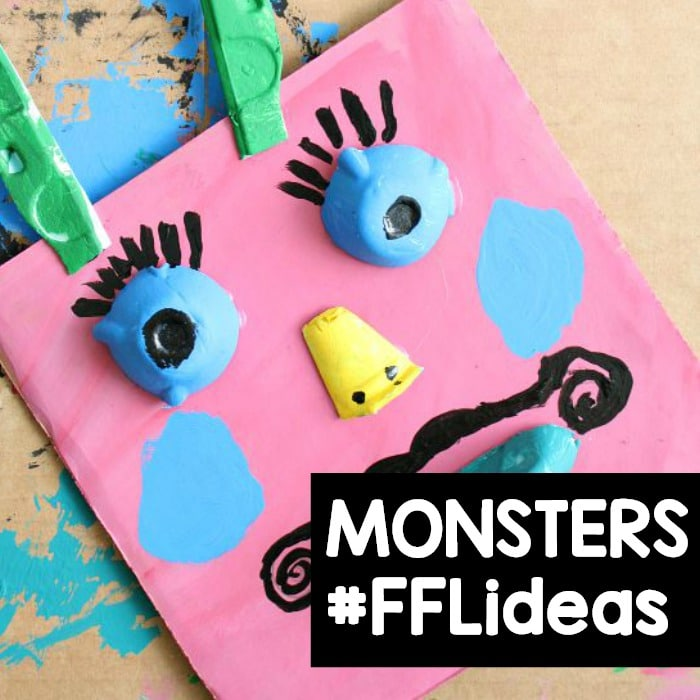 Monster Theme Activities for Preschool