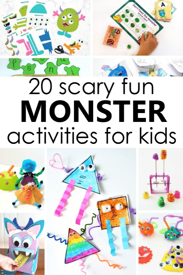 20 Silly Monster Activities