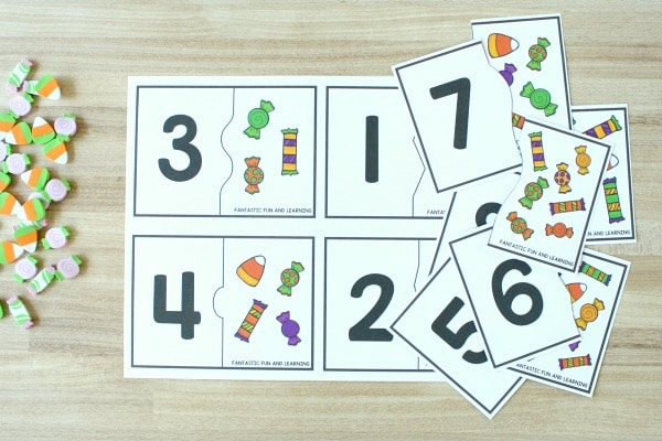 Candy Counting Puzzles