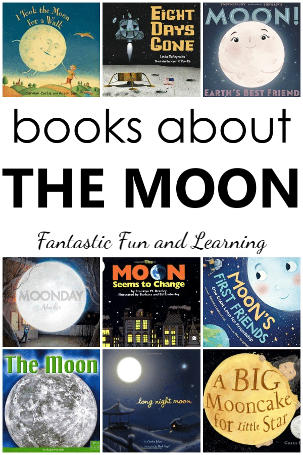 24 Fascinating Books About the Moon for Kids