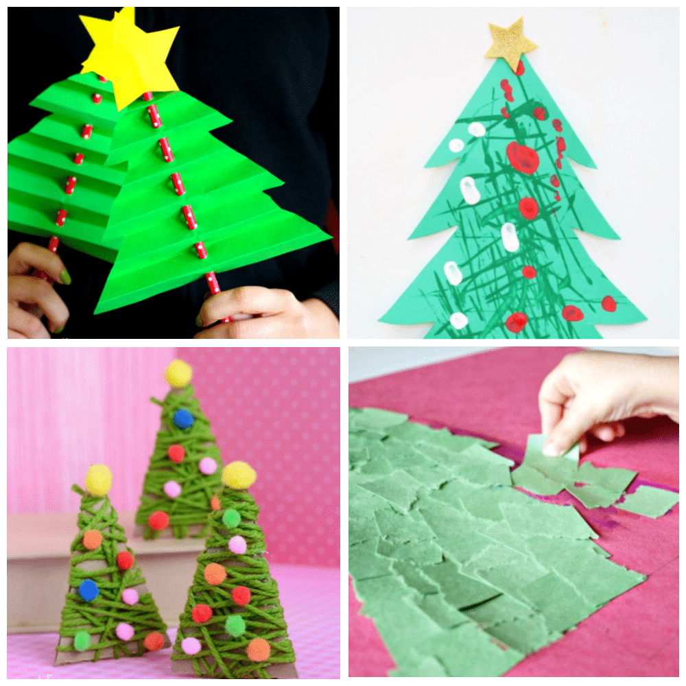 Big List Of Christmas Tree Crafts For Kids Fantastic Fun Learning
